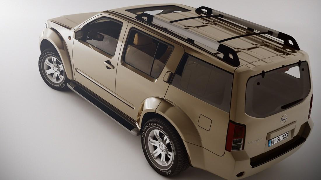 NissanPathfinder_Studio_Render